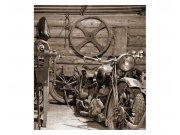 Fototapeta na zeď Starobylá garáž | MS-3-0319 | 225x250 cm Fototapety