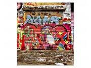 Fototapeta na zeď Ulice s graffiti | MS-3-0321 | 225x250 cm Fototapety