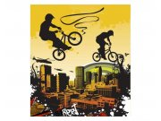 Fototapeta na zeď Cyklisti   MS-3-0326   225x250 cm Fototapety