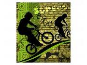 Fototapeta na zeď Zelené kolo | MS-3-0328 | 225x250 cm Fototapety