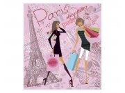 Fototapeta na zeď Pařížský styl | MS-3-0331 | 225x250 cm Fototapety