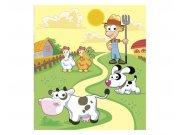 Fototapeta na zeď Zvířátka z farmy | MS-3-0334 | 225x250 cm Fototapety