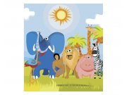 Fototapeta na zeď Zvířátka v Africe | MS-3-0338 | 225x250 cm Fototapety