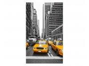 Fototapeta na zeď Taxi ve městě | MS-2-0008 | 150x250 cm Fototapety