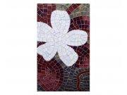 Fototapeta na zeď Červená mozaika | MS-2-0114 | 150x250 cm Fototapety