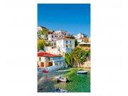 Fototapeta na zeď Řecká pobřeží | MS-2-0197 | 150x250 cm Fototapety