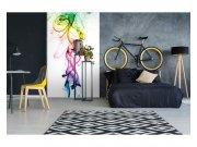Fototapeta na zeď Teplý kouř barev | MS-2-0289 | 150x250 cm Fototapety