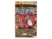 Fototapeta na zeď Ulice s graffiti | MS-2-0321 | 150x250 cm Fototapety