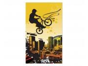 Fototapeta na zeď Cyklisti | MS-2-0326 | 150x250 cm Fototapety