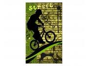 Fototapeta na zeď Zelené kolo | MS-2-0328 | 150x250 cm Fototapety