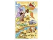 Fototapeta na zeď Zvířátka ze savany | MS-2-0333 | 150x250 cm Fototapety