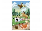 Fototapeta na zeď Zvířátka u lesa | MS-2-0340 | 150x250 cm Fototapety