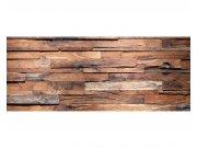 Panoramatická Fototapeta na zeď Dřevěná zeď | MP-2-0158 | 375x150 cm Fototapety