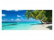 Panoramatická Fototapeta na zeď Tropický ráj | MP-2-0215 | 375x150 cm Fototapety