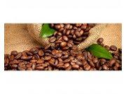 Panoramatická Fototapeta na zeď kávová zrna | MP-2-0244 | 375x150 cm Fototapety