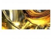 Panoramatická Fototapeta na zeď Zlatý abstrakt | MP-2-0291 | 375x150 cm Fototapety