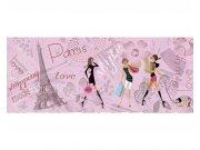 Panoramatická Fototapeta na zeď Pařížský styl | MP-2-0331 | 375x150 cm Fototapety