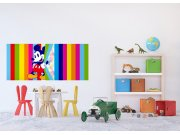 Fototapeta Duhový Mickey Mouse FTDNH-5380 | 202x90 cm Fototapety