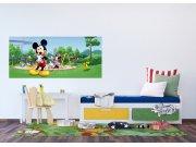 Fototapeta Mickey Mouse v parku FTDNH-5382 | 202x90 cm Fototapety