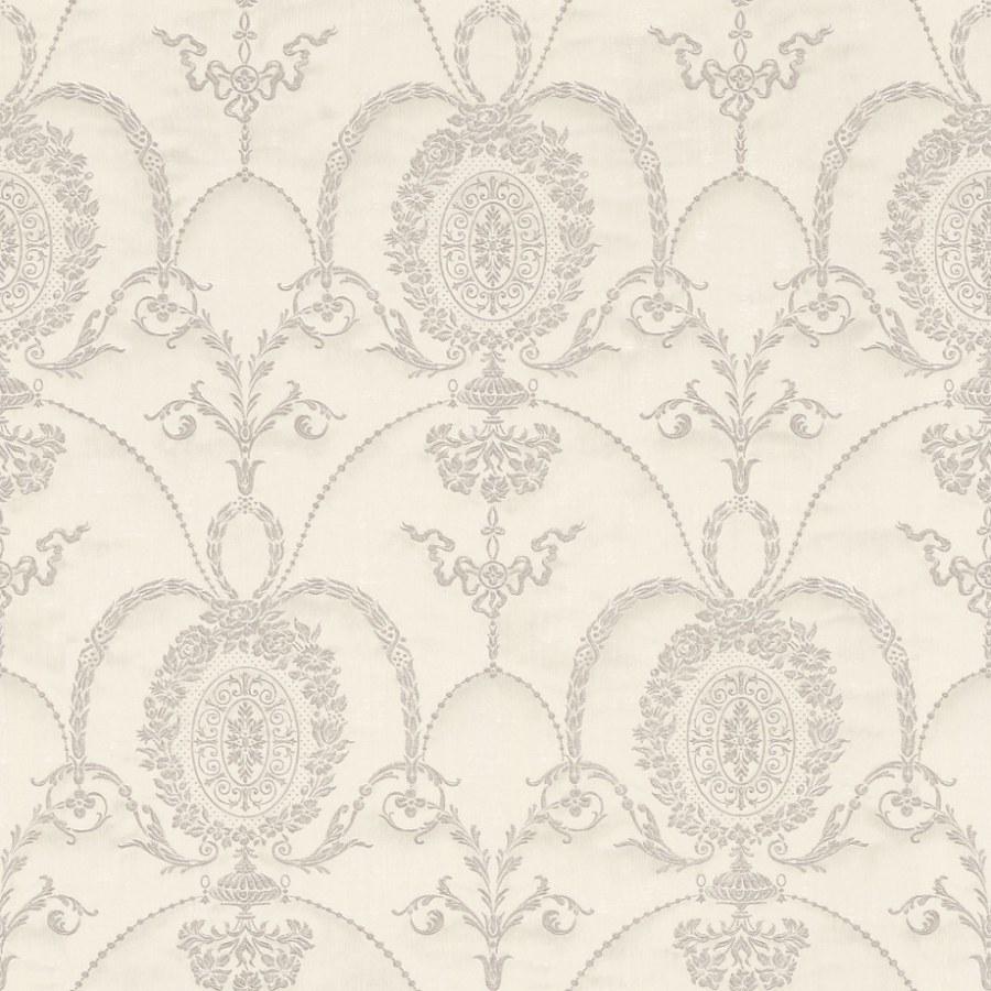 Barokní tapeta Krémová ornamenty Trianon 532104 | lepidlo zdarma - Rasch