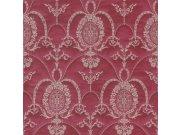 Barokní tapeta červené ornamenty Trianon 532135 | lepidlo zdarma Rasch