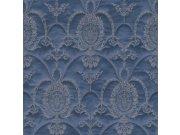 Barokní tapeta Modré ornamenty Trianon 532159 | lepidlo zdarma Rasch