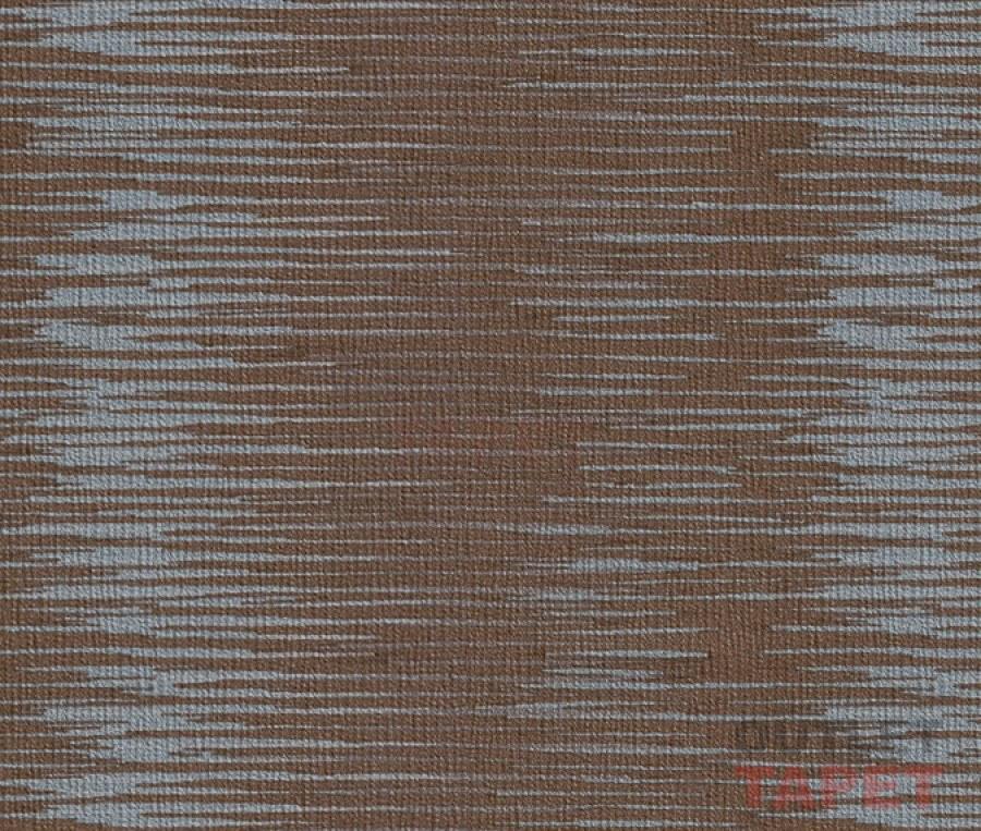 Hnědá tapeta vodorovný šedý vzor 763133 - Výprodej