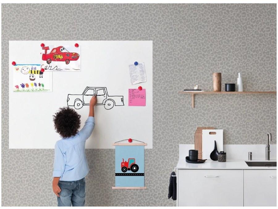 Magnetická samolepící popisovací fólie 90 x 120 cm - Tapety samolepící