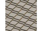 3D tapeta Blooming s 3D vzorem BL22731 | Squares | 0,53 x 10 m | Lepidlo zdarma Vavex