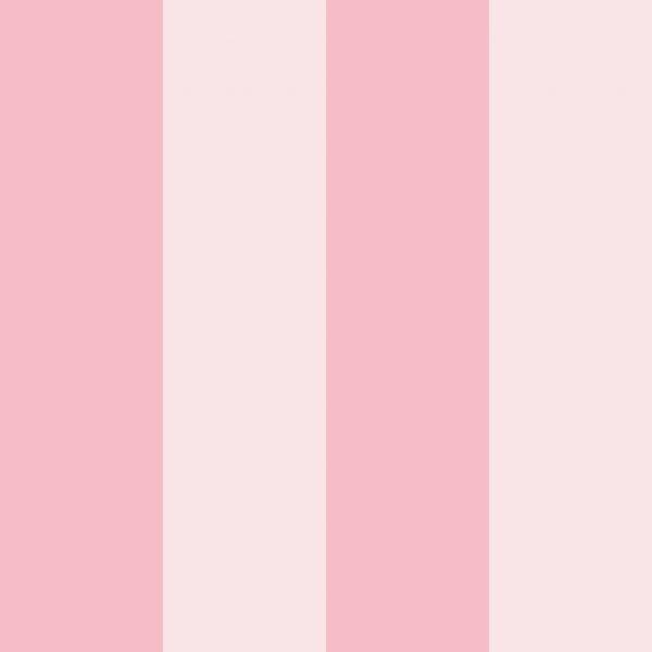 Růžová pruhovaná tapeta 6080002 | 0,53 x 10 m - Tapety dětské