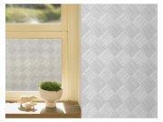 Samolepící fólie transparentní Čtverce 121-005 | šířka 122 cm Tapety samolepící