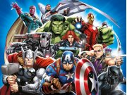 Fototapeta Avengers FTDNXXL5081 | 360 x 270 cm Fototapety