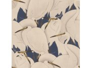 Omyvatelná tapeta v japonském vzoru Kimono 409550 | Lepidlo zdarma Rasch