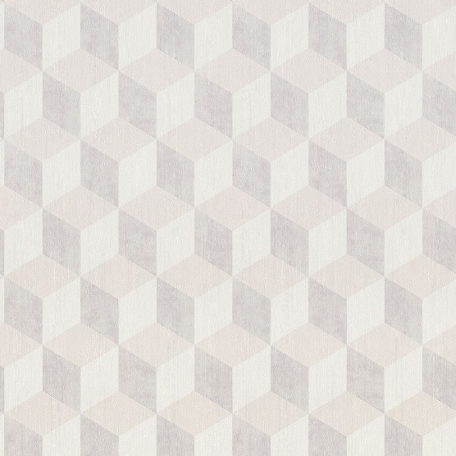 3D retro tapeta 220363 Geometry | Lepidlo zdarma - Vavex