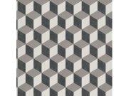 3D retro tapeta 220362 Geometry | Lepidlo zdarma Vavex