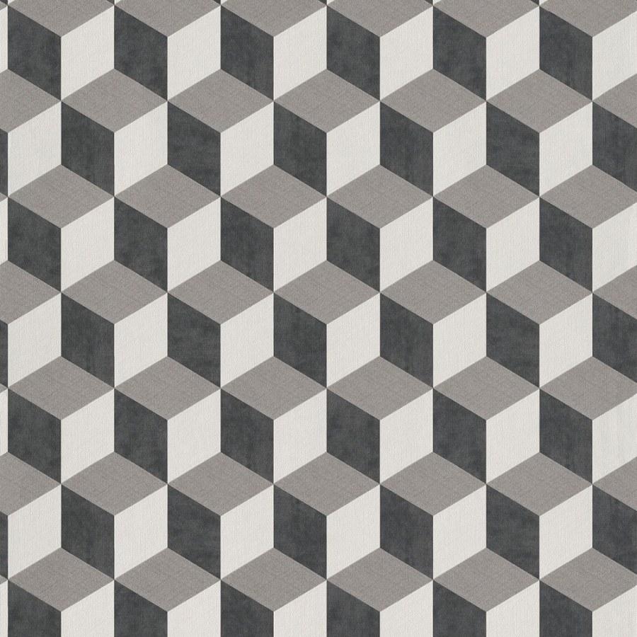 3D retro tapeta 220362 Geometry | Lepidlo zdarma - Vavex