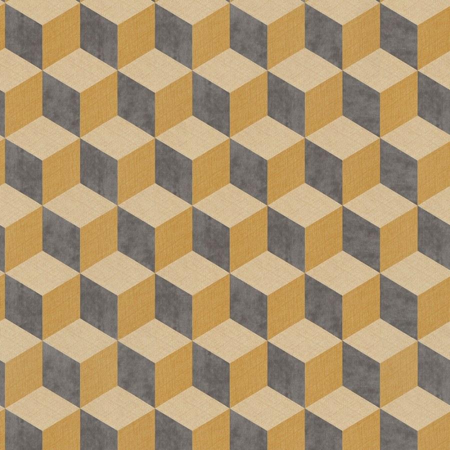 3D retro tapeta 220367 Geometry | Lepidlo zdarma - Vavex