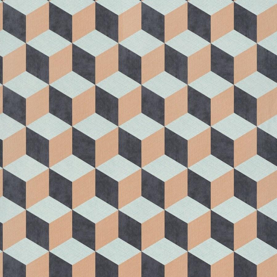 3D retro tapeta 220365 Geometry | Lepidlo zdarma - Vavex