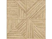Tapeta Štípaný bambusový vzor JF2401 Geometry | Lepidlo zdarma Vavex