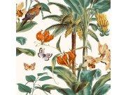 Tapeta Palmy s papoušky JF2002 Botanica | Lepidlo zdarma Vavex