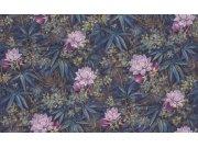 Tapeta v květinovám vzoru Axiom 905090 | Lepidlo zdarma Rasch