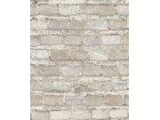 Tapeta šedá cihlová zeď Factory IV 428049 | Lepidlo zdarma Rasch
