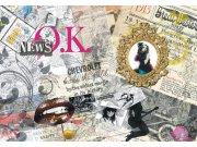 Fototapeta AG Noviny OK FTNXXL-0305 | 360x270 cm Fototapety