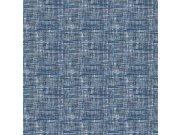 Modrá tapeta imitace hrubé tkaniny FT221250 | Lepidlo zdarma Vavex