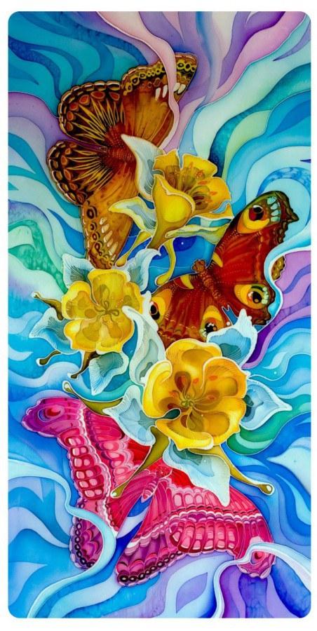 Dekorativní obraz Obrázek Motýli PD-3504, rozměry 29 x 55 cm - Výprodej