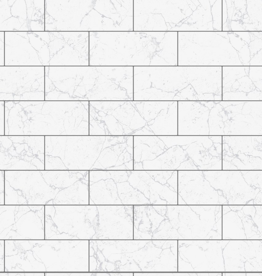 Tapeta Ceramics mramor kachličky 270-0175 | šíře 67,5 cm - Tapety skladem