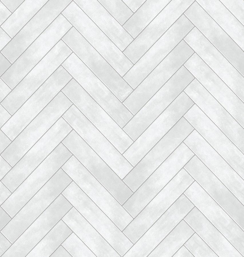 Tapeta Ceramics šedý parketový vzor 270-0176   šíře 67,5 cm - Tapety skladem