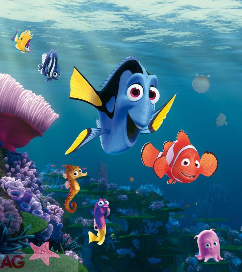Fototapeta AG Nemo & Dory FTDNXL-5132 | 180x202 cm - Fototapety