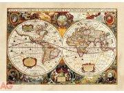 Fototapeta AG World map FTM-0486 | 160x115 cm Fototapety