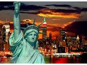 Fototapeta AG Sunset Liberty FTM-0812 | 160x115 cm Fototapety